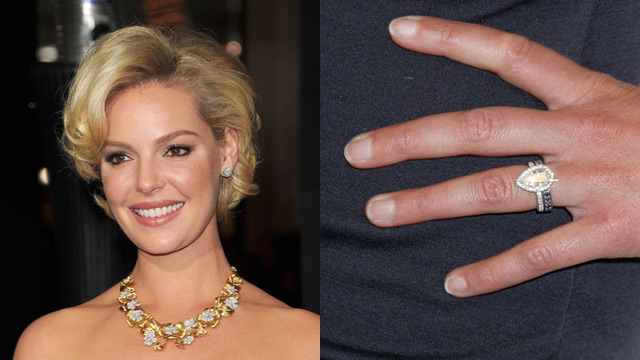 Bride To Be Celebrity Weddings Katherine Heigl Engagement Ring