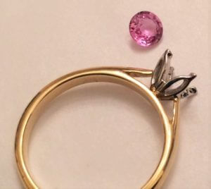 Sarah's ring components
