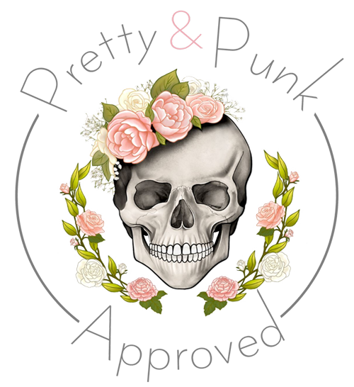 Pretty and punk listing logo